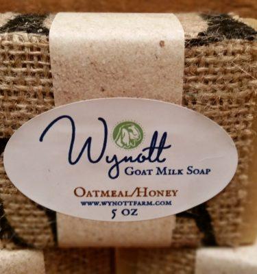 Oatmeal/Honey Goat Milk Soap from Wynott Farm