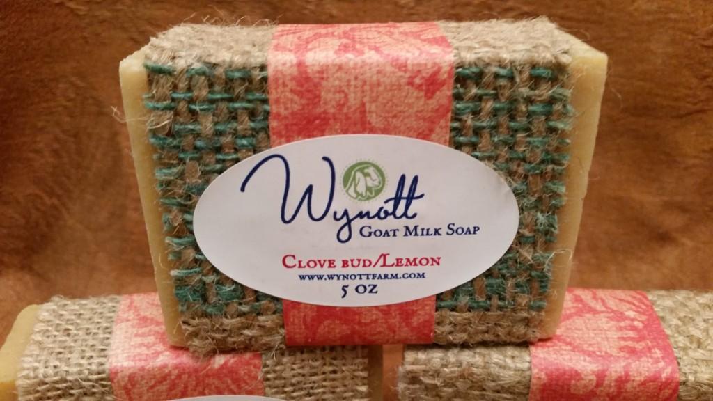 Clove Bud/Lemon Goat Milk Soap from Wynott Farm
